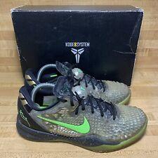 Nike Kobe 8 System SS Mens Size 8.5 Christmas Green 639522 001 With OG Box Xmas