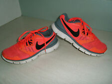 Super Turn-Schuhe Sport Schuhe Sneakers NIKE Gr.37,5 neon orange