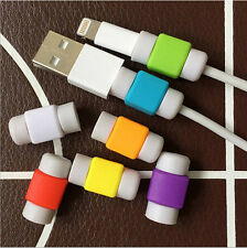 Cable Protector Saver Cover for Apple Android Charger USB Cord USA SELLER