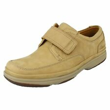 Mens Clarks Wide Fit Casual/Smart Shoes Swift Turn