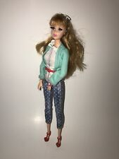 BARBIE STYLE Mattel MIDGE DOLL 2013 Complete Outfit Eyelashes Articulated EUC