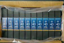 10 Sony BCT-40HD  HDCAM Digital HD Video Cassettes