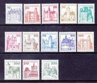 Germany 1231-42 MNH OG 1977-79 Full Castle Set of 13 Very Fine