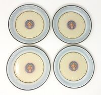 Mikasa Jewel Stone Lucerne Lot of 4 Small Salad Size Plates Fruit *EXCELLENT*