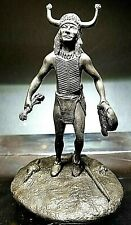 """The Franklin Mint Western Bronzes """"The Sioux Medicine Man"""" Limited Edition 1976"""