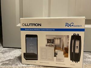 Lutron RA2 Select  Smart Home Wireless Control Dimmer Kit Works With Alexa Apple