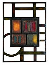 Contemporary Plaque Metal Wall Sculpture Modern Abstract Art Office Home Decor