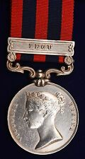 India General Service Medal ~ Pegu ~ John Marshall ~ 18th   Royal Irish Regiment