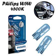 2x Philips W5W 12V 12961NBVB2 White Vision 4500K Innenbeleuchtung Ersatz Lampe