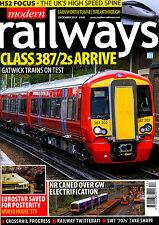 MODERN RAILWAYS 807 DEC 2015 HS2 Special Report,Zefiro,Crossrail,Twitter,Europe