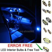 Interior Car LED Bulb Light KIT Package Xenon Blue 10000K For BMW 1 SERIES (E82)