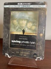 Saving Private Ryan Steelbook (4K Uhd+Blu-ray+Digital) Factory Sealed