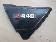 Kawasaki z440 left side panel + badge Z 440 ltd part No 36001-1150