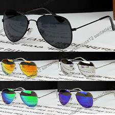 Classic Pilot Aviator Sunglasses KIDS Children's Girls Boys Metal Frame UV400