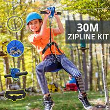 30M Backyard Zip Line Kit Seilru...