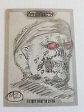 2009 TERMINATOR SALVATION Artist Sketch Card