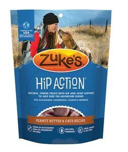 Zukes - Hip Action Dog Treats Peanut Butter & Oats Recipe - 6 oz. (170 g)