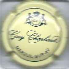 Capsule de champagne Guy Charbaut N°5 Creme et bleu