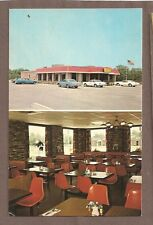VINTAGE POSTCARD UNUSED MAC GEORGE'S FAMILY RESTARAUNT WARETOWN NEW JERSEY