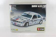 BBURAGO DIE-CAST METAL KIT 1/24 BMW 635 CSi  COD.5173 BURAGO