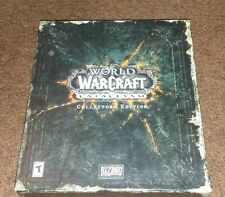 World of Warcraft Cataclysmic Collector's Edition (2010) Complete W/Guest Key