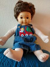 VINTAGE 1986 Hasbro Playskool My Buddy Doll Original Brown Hair brown eyes