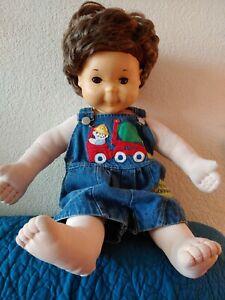 VINTAGE 1986 Hasbro Playskool My Buddy Doll Original Brown Hair brown eyes