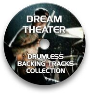 DREAM THEATER MP3 ROCK DRUMLESS DRUMS BACKING TRACKS COLLECTION ON CD