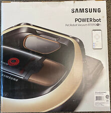 Samsung POWERbot R7090 App-Controlled Pet Robot Vacuum with Edge Clean NEW!