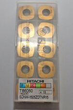 10 Stück Wendeschneidplatten Hitachi TB6060 SDNW-1505ZDTNR15 Wendeplatten