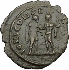 Aurelian receiving globe from Jupiter Ancient Roman Coin Jupiter  Cult  i39482
