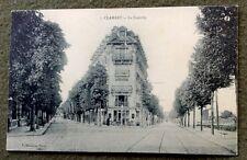 CPA. CLAMART. 92 - La Fourche. Jeux et billards?