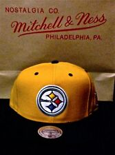 NFL Mitchell & Ness Snapback Hat, Pittsburgh Steelers, 100% Authentic!