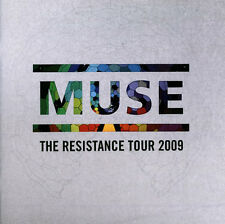 MUSE,RESISTANCE 2009 TOUR PROGRAMME+STICKERS+POSTCARDS.NEW MINT