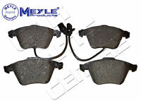 FOR AUDI A8 4E 2.8 3.0 TDi FRONT BRAKE PAD PADS SET MEYLE GERMANY & WIRES 03-10