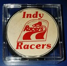 Indianapolis racers vintage  youth hockey puck extremely rare Gretzky