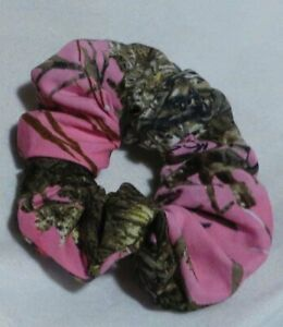 pink Camo real tree Scrunchie camouflage hunting country outdoor comfort
