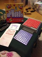 2006 Upwords The Quick Stacking Word Game & Sudoku Game Hasbro used