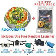 Rock Zurafa (Giraffe) BB-78 Beyblade w/ Free Launcher & Tips / Parts / Card Gift