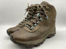 MERRELL Vego Womens Brown Leather Walking Hiking Waterproof Boots UK 4 EU 37