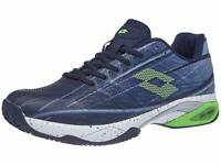 Lotto Men Mirage 300 Clay Tennis Shoes Clay Court Shoe Dark Blue - Lime 9,5 -...