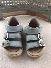 Naturino European Brand Leather Sandals For Infant Unisex Size Euro 18