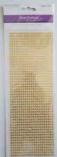 MULTICRAFT Forever in Time GOLD Gem Stickers Value Pack - 1029 Pieces