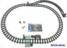 LEGO ® ferrovia (60051) guide cerchio con morbida/sinistra Prell Bock e stazione ferroviaria