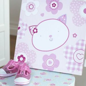 Baby Purfect Little Flowers Wall Canvas Nursery Decoration Accessories Gifts