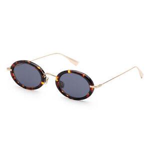 Christian Dior Women's HYPNOTIC2S-02IK-A9 Fashion 46mm Havana Gold Sunglasses