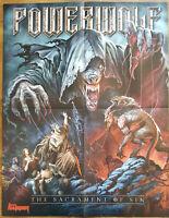 ⭐⭐⭐⭐  Powerwolf  ⭐⭐⭐⭐  At The Gates ⭐⭐⭐⭐ 1 Poster 45 x 58 cm ⭐⭐⭐⭐