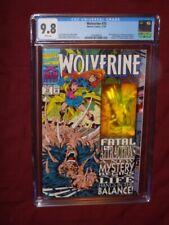 Wolverine #75 CGC 9.8       Wolverine Hologram