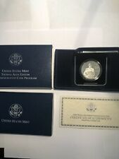 2004 Thomas Alva Edison Proof Silver Dollar Commemorative Coin