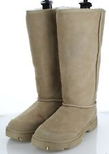 W36 NEW $295 Women's Sz 10 M UGG Ultimate Braid Genuine Shearling Lined Boots